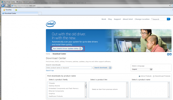 Intel – Download Center